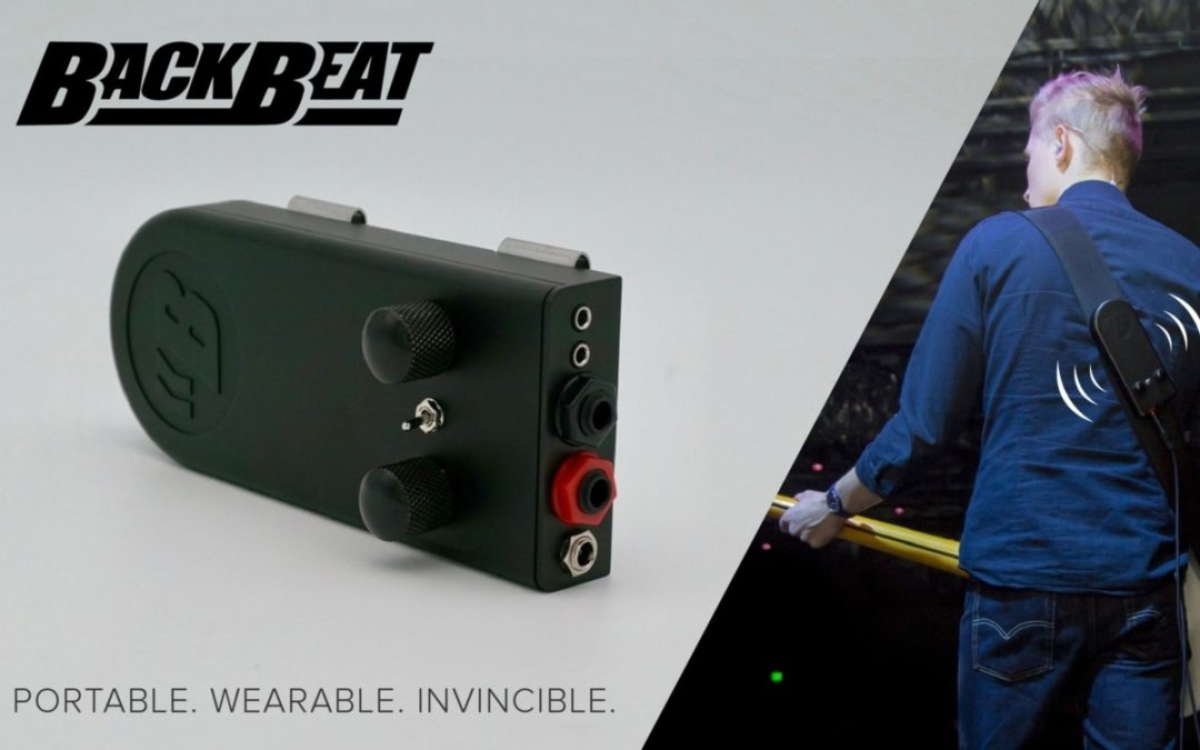 Feel the bass with the BackBeat subwoofer