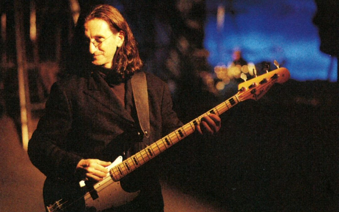 Geddy Lee announces bass exhibition and press tour