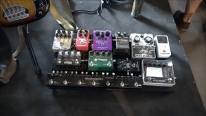 Zimmer Pedal Board