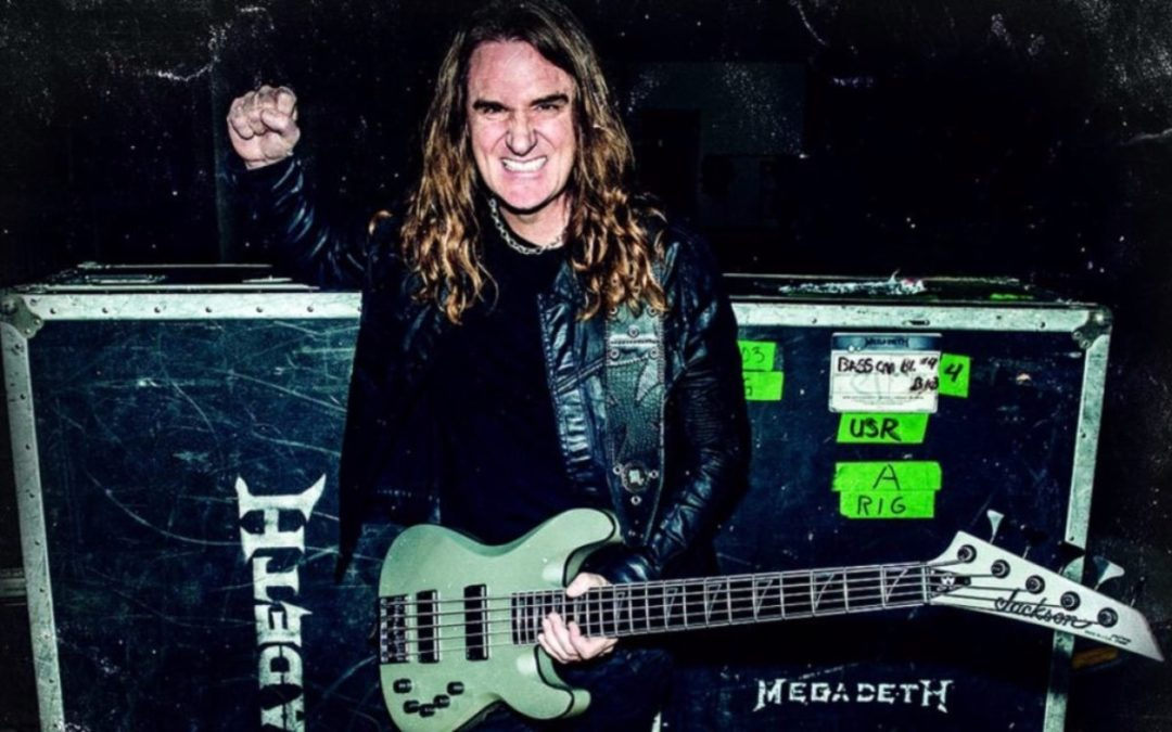 Megadeth's Dave Ellefson on the first time he earned money playing music