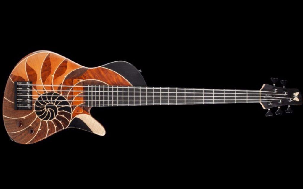 New bass guitar from Fodera: Masterbuilt Nautilus