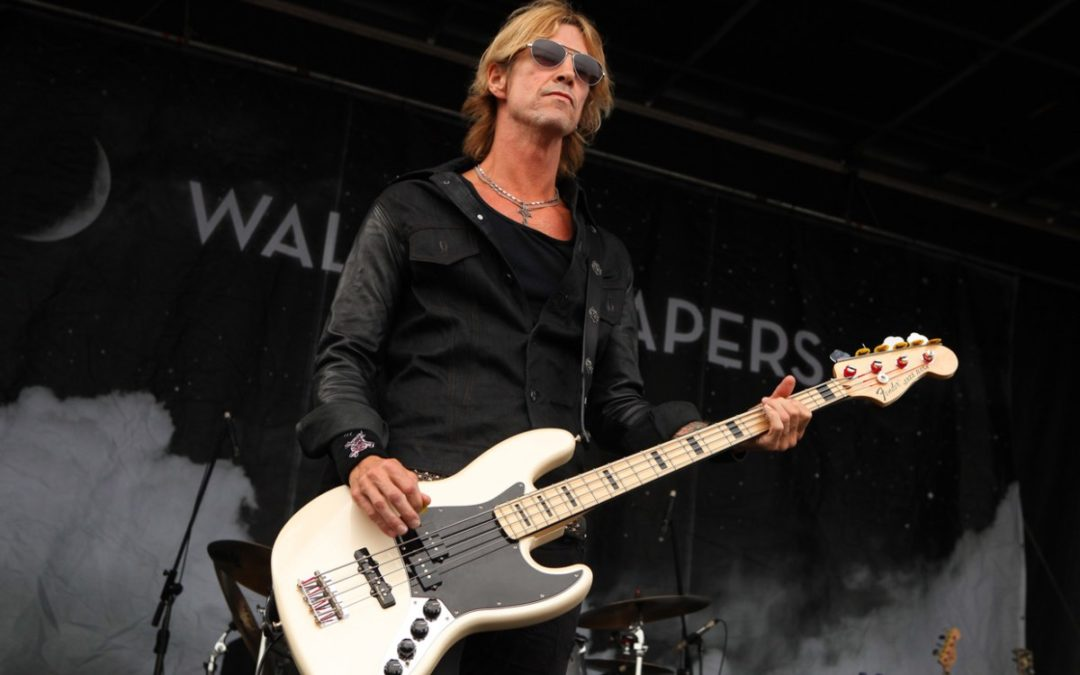 Duff McKagan recording solo album