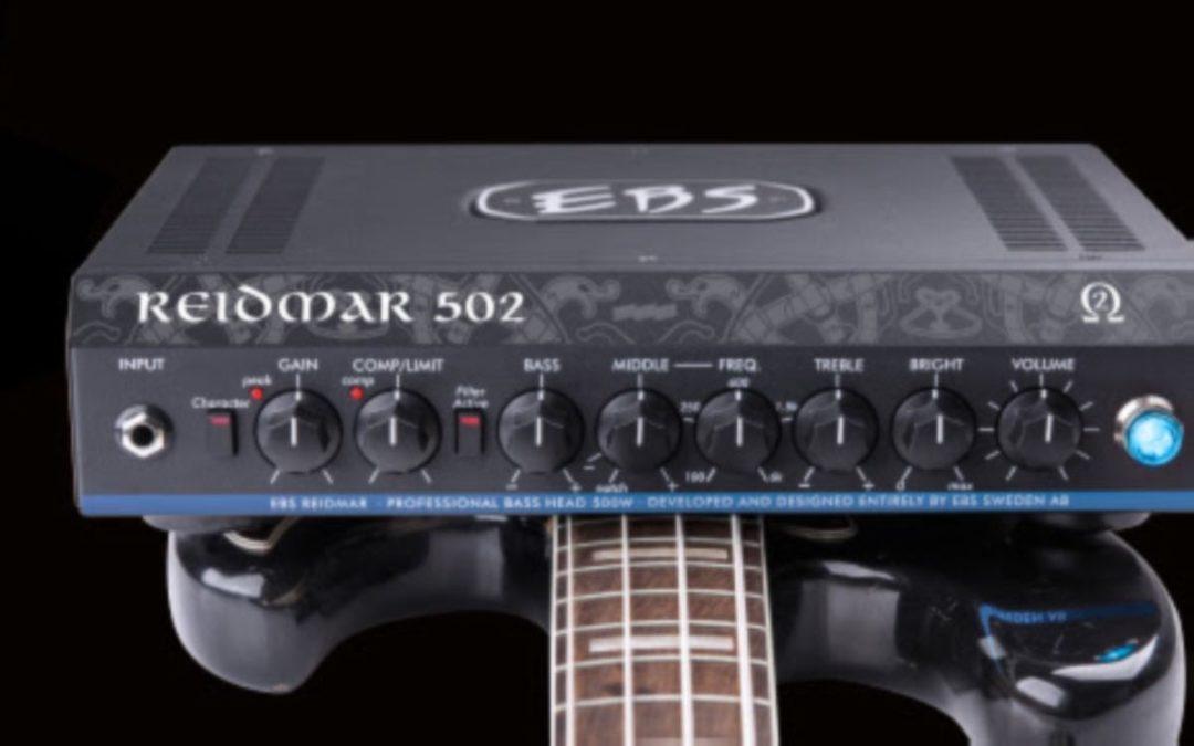 New EBS bass head: Reidmar 502