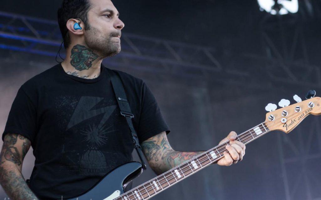 Rise Against bassist Joe Principe talks bass