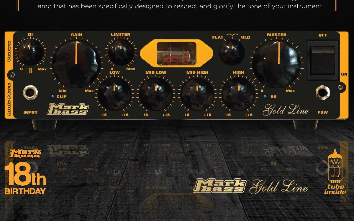 New: Markbass Little Mark Vintage bass amp