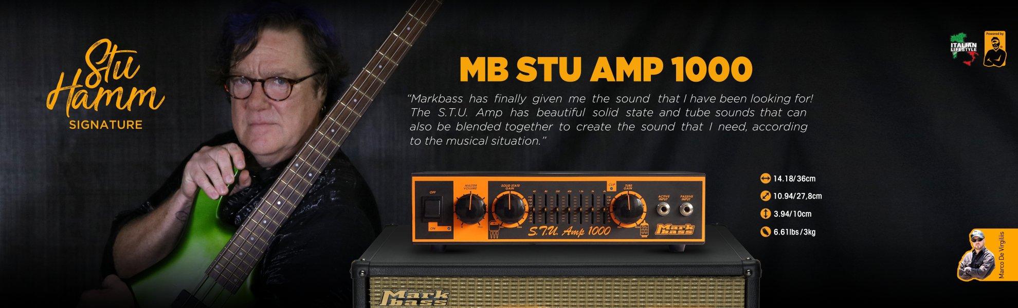 Markbass Stu Hamm Signature bass head