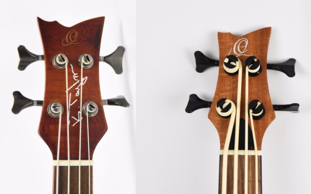Bass Ukulele Test: Ortega Lizzy BSFL-GB and KT-Walker-V2