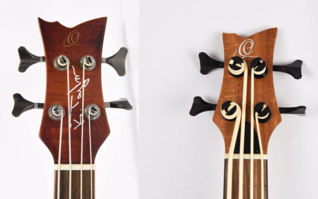 Bass Ukulele Test: Ortega Lizzy BSFL-GB and KT-Walker-V2
