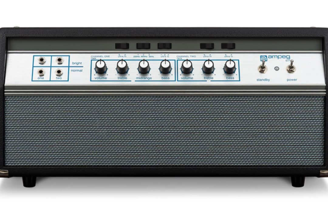 New from Ampeg: Heritage 50th Anniversary SVT head